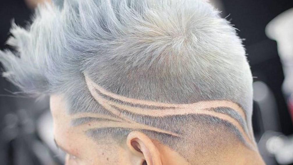 Рисунок на голове